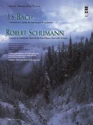 J.S. Bach - Concerto in C Minor and Schumann - Andante and Variations, Opus 46