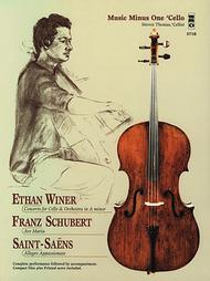 WINER Violoncello Concerto; SCHUBERT Ave Maria; SAINT-SAENS Allegro Appassionato (pop ver.)