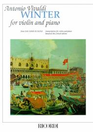 Concerto in F Minor L'inverno (Winter) from The Four Seasons RV297, Op.8 No.4 sheet music