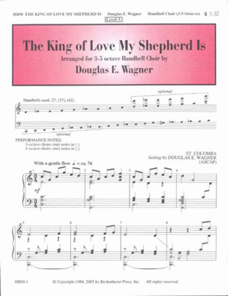 Sheet music: The King of Love My Shepherd Is (Percussion)