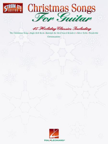Sheet music: Christmas Songs For Guitar - Easy Guitar (Melody line ...