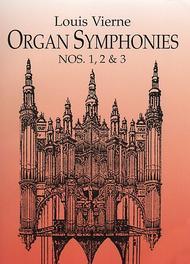 Organ Symphonies Nos. 1, 2 & 3