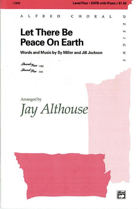Sheet music: Let There Be Peace on Earth (SATB)