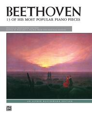 Beethoven -- 13 of His Most Popular Piano Pieces sheet music