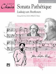 Sonata Pathetique (Theme from 2nd Movement) Sheet Music