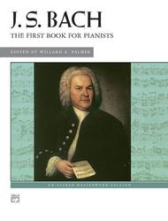 Bach -- First Book for Pianists