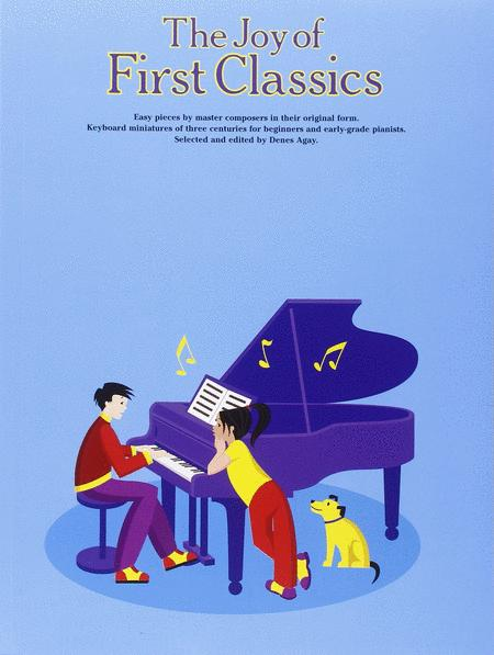 Sheet music: The Joy Of First Classics (Piano solo)