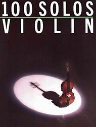 Various Artists  Sheet Music 100 Solos - Violin Song Lyrics Guitar Tabs Piano Music Notes Songbook