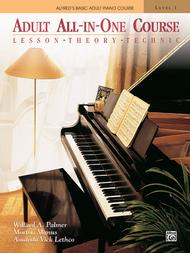 Alfred's Adult All-in-One Course - Level 1 (Book): Piano Solo Sheet..