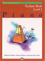 Alfred's Basic Piano Course - Technic Book (Level 2) sheet music