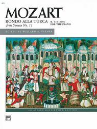 Rondo alla Turca (from Sonata No. 11, K. 331/300i)
