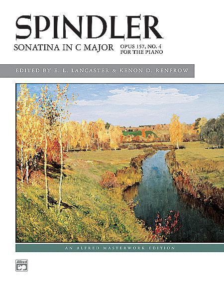Sheet music: Sonatina in C, Op  157, No  4 (Piano solo)