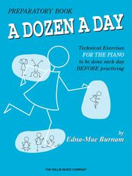 A Dozen A Day - Preparatory Book sheet music