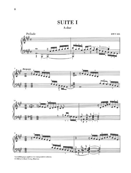 <br>Sheet music extract