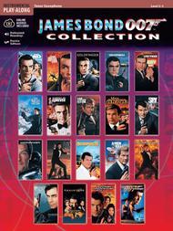 James Bond 007 Collection - Tenor Saxophone (Book/CD)