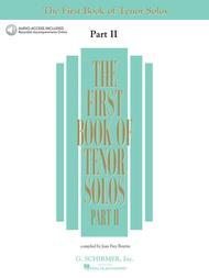 The First Book of Tenor Solos - Part II (Book/CDs)