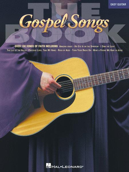 Sheet music: The Gospel Songs Book - Easy Guitar (Melody line ...