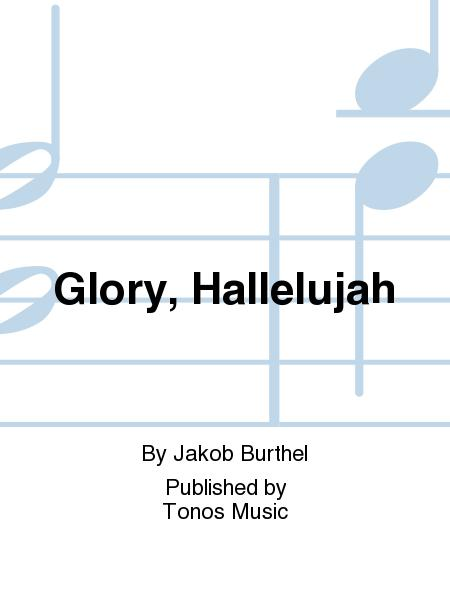 Sheet music: Glory, Hallelujah (Choir, Percussion, Piano ...
