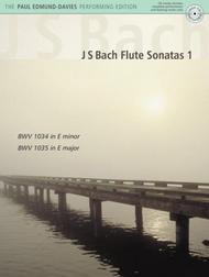 J.S. Bach Flute Sonatas - Volume 1