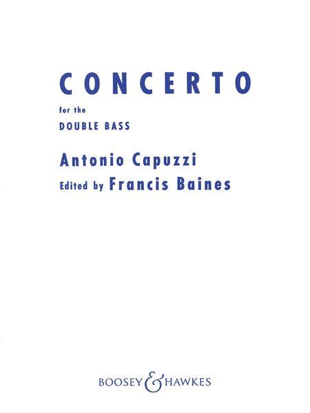 Antonio Capuzzi: Double Bass Concerto Baines