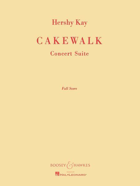 Cake Walk Music Writing