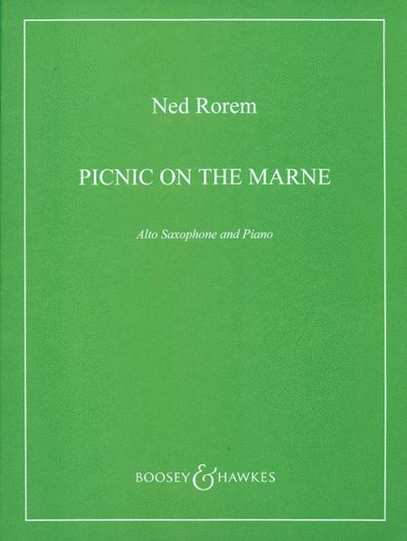 Sheet music: Picnic On the Marne (Alto Saxophone and Piano)