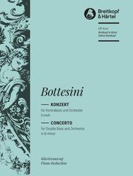 Kontrabasskonzert h-moll sheet music