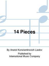 Anatol Konstantinovich Liadov  Sheet Music 14 Pieces Song Lyrics Guitar Tabs Piano Music Notes Songbook