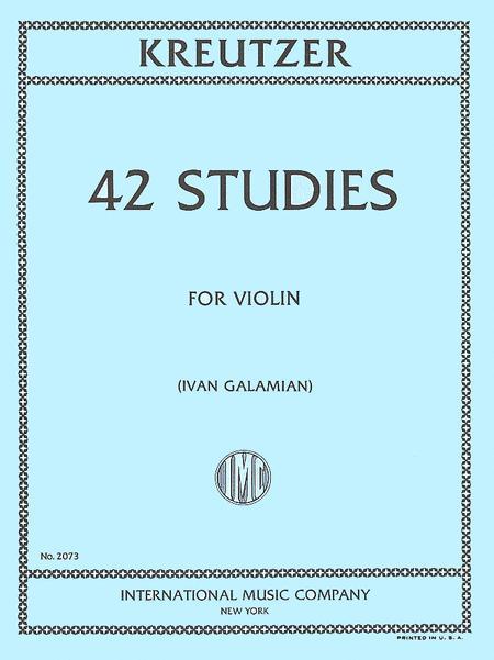 Rodolphe Kreutzer: 42 Studies