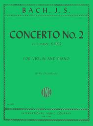 Concerto No. 2 in E major, BWV 1042