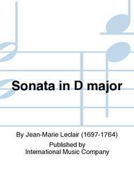 Sonata in D major sheet music