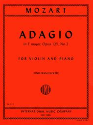 Adagio in E major, K. 261