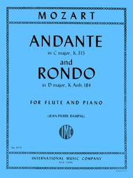 Andante in C major, K. 315 and Rondo in D major K. Anh. 184