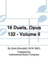 Giulio Briccialdi  Sheet Music 16 Duets, Opus 132: Volume II Song Lyrics Guitar Tabs Piano Music Notes Songbook