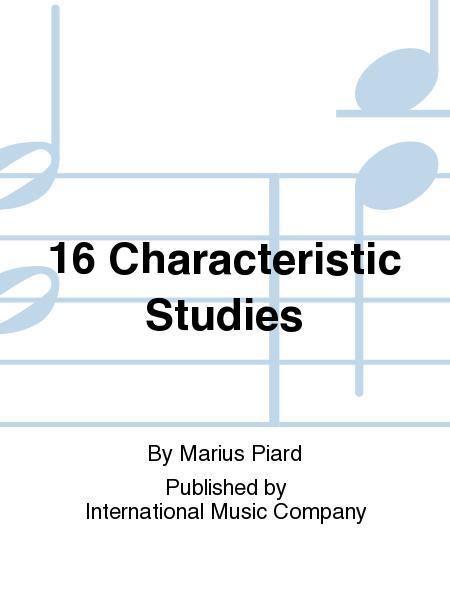 also performance score Marius  score Solo B 16 CHARACTERISTIC STUDIES  Piard