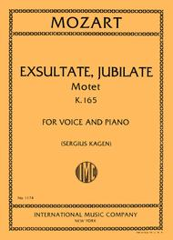 Exsultate, Jubilate, Motet, K. 165