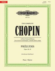 The Complete Chopin Preludes (Op. 28, Op. 45) sheet music