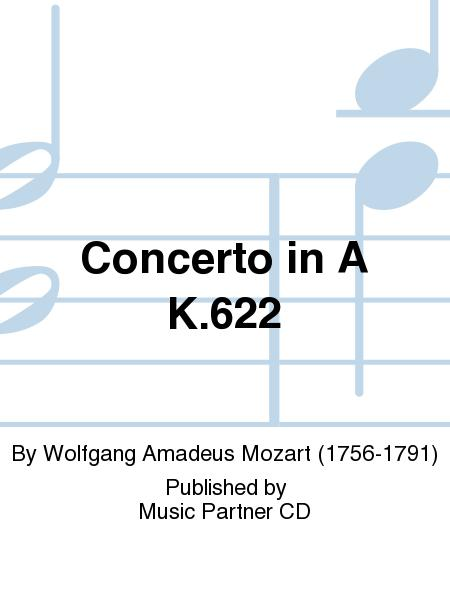 Concerto for Clarinet in A Major (KV 622) (music and accompaniment CD)