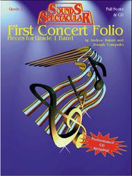 First Concert Folio - Pieces for Grade 1 Bands