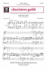 Jubilate Deo sheet music