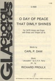O Day of Peace That Dimly Shines sheet music