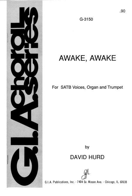 Sheet music awake awake organtrumpetvocalchoralvocal awake awake m4hsunfo