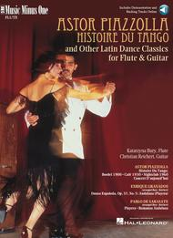 PIAZZOLLA Histoire du Tango and other Latin Classics for Flute and Guitar Duet