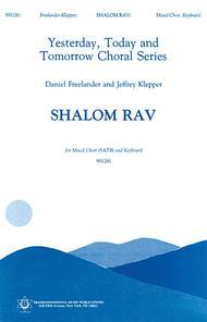 Shalom Rav sheet music