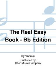 The Real Easy Book - Bb Edition sheet music