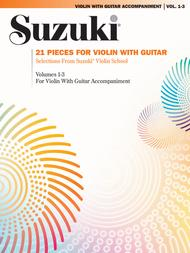 21 Pieces for Violin with Guitar: Violin Sheet Music / Songbook