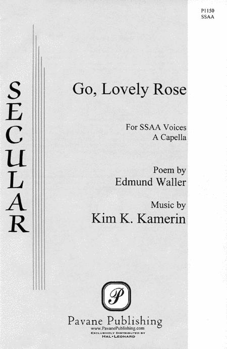 Sheet music: Go, Lovely Rose (SSAA A Cappella)