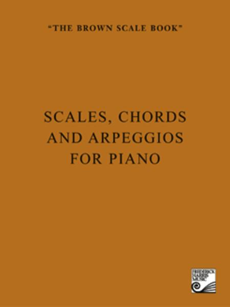 Sheet music: The Brown Scale Book (Piano solo)