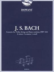 Bach: Concerto for Violin, Strings and Basso Continuo BWV 1041 in A Minor