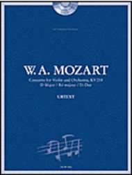 Mozart: Concerto No. 4 for Violin and Orchestra, KV 218 in D Major
